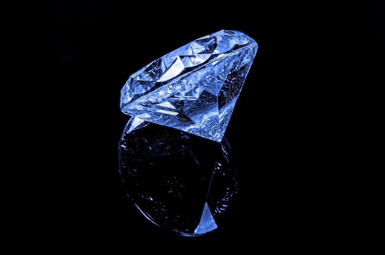 איך לקנות יהלומים - יהלום כחול